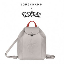 Sac à Dos Longchamp x Pokemon Blanc japan plush
