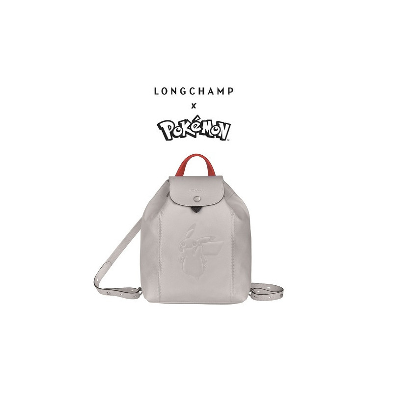 Sac à Dos Longchamp x Pokemon Blanc