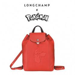 Backpack Longchamp x Pokemon Red japan plush