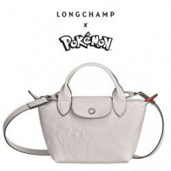 Mini Sac à Main Longchamp x Pokemon Blanc japan plush