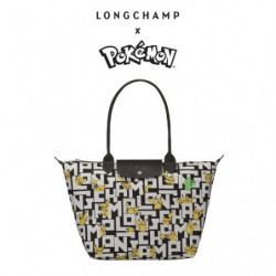 Sac Longchamp x Pokemon  Noir et Blanc japan plush