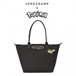 Sac Longchamp x Pokemon Noir japan plush