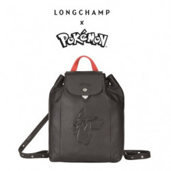 Sac à Dos Longchamp x Pokemon Noir japan plush