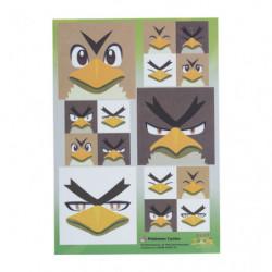 Sticker Farfetch'd Sirfetch'd Farfetch'd Galar Face japan plush