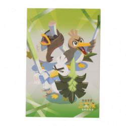 Postcard Book Farfetch'd Sirfetch'd Farfetch'd Galar japan plush