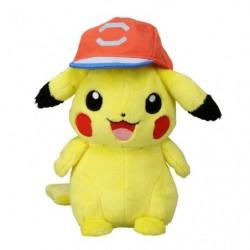Plush Pikachu Satoshi Alolan Cap Ver.