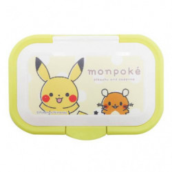 Reusable Lid Wet Tissue Pikachu and Dedenne monpoké japan plush