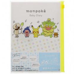 Baby Diary monpoké japan plush