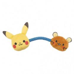 Rattle Pikachu and Dedenne monpoké