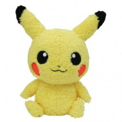 Plush Pikachu Mokomoko japan plush