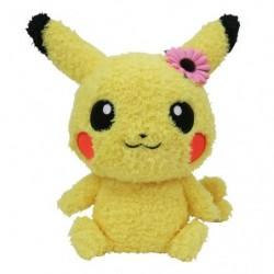 Peluche Pikachu Mesu Mokomoko japan plush