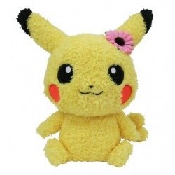 Plush Pikachu Mesu Mokomoko japan plush