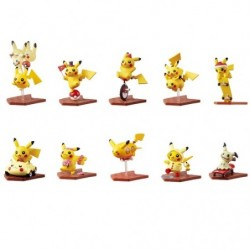 Mini Figure Collection Susume Pikachu - 1 Random Include japan plush