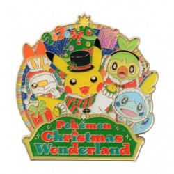 Pins Logo Pokémon Noël 2020 japan plush
