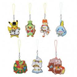 Porte-clés caoutchouc Pokémon Noël 2020 japan plush