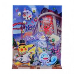 Acrylic stand Pikachu Christmas 2020 japan plush