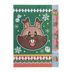 Clear file Greedent Christmas 2020 japan plush