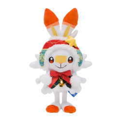 Plush Scorbunny Christmas 2020