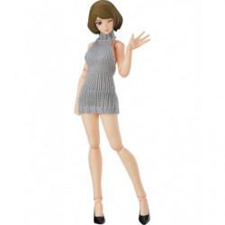 figma Chiaki Backless Sweater Outfit figma Styles japan plush