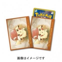 Card Sleeves Pikachu Cap japan plush