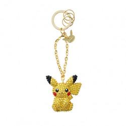 Porte-clés Pikachu Swarovski Pokémon japan plush