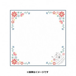 Serviette Déjeuner Pikachu number025 Flower japan plush