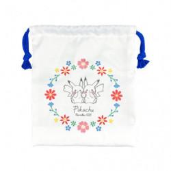 Pochette Pikachu number025 Flower japan plush