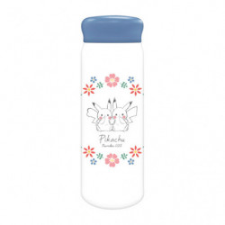 Stainless Bottle Pikachu number025 Flower