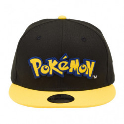 Cap Pokémon Logo Yellow NEW ERA Youth 9FIFTY japan plush