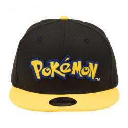Casquette Pokémon Logo Jaune NEW ERA Youth 9FIFTY japan plush