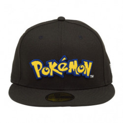 Cap Pokémon Logo Black NEW ERA 59FIFTY japan plush