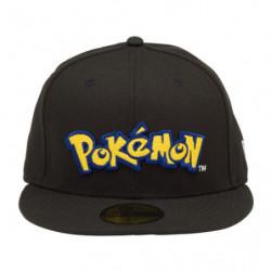 Casquette Pokémon Logo Noir NEW ERA 59FIFTY japan plush