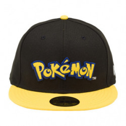 Cap Pokémon Logo Yellow NEW ERA 59FIFTY japan plush