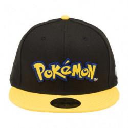 Casquette Pokémon Logo Jaune NEW ERA 59FIFTY japan plush