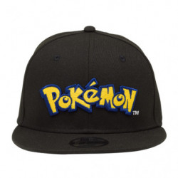 Cap Pokémon Logo Black NEW ERA Youth 9FIFTY japan plush