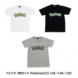 T-Shirt Pokémon Logo Set Kids japan plush