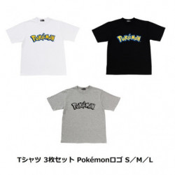 T-Shirt Pokémon Logo Set japan plush