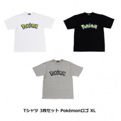 T-Shirt Pokémon Logo Set XL japan plush