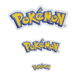 Stickers Pokémon Logo japan plush