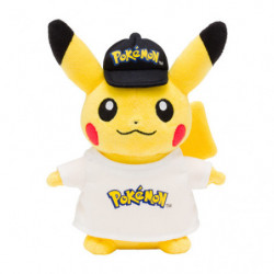 Plush Pikachu Logo japan plush