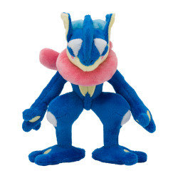 Peluche Amphinobi Pokémon Posing