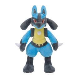 Plush Lucario Pokémon Posing