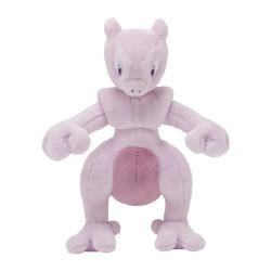 Plush Mewtwo Pokémon Posing