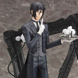 Figurine Sebastian Michaelis Black Butler ARTFX J japan plush