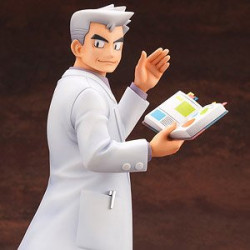 Figure Professor Samuel Oak and Bulbasaur Pokémon ARTFX J japan plush