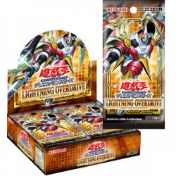 Display Lightning Overdrive YuGiOh TCG Japan
