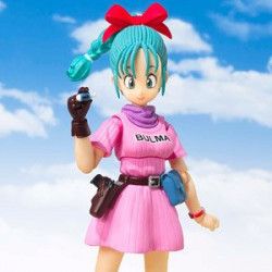 Figure Bulma Dragon Ball Figuarts japan plush