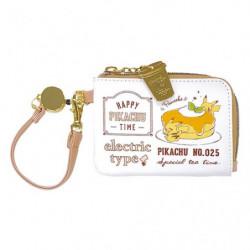 Commuter Pass Accessory Case Pikachu number025 Café japan plush