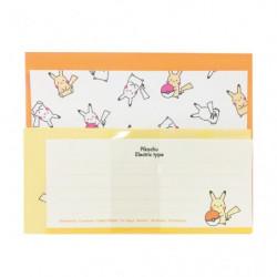 Letter Paper Pikachu japan plush