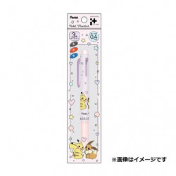 Pen 3 Colors Pikachu and Eevee japan plush